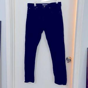 Wrangler men's black jeans